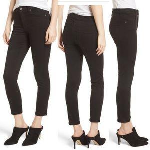 AGOLDE Sophie High Waist Crop Skinny Jeans S 25